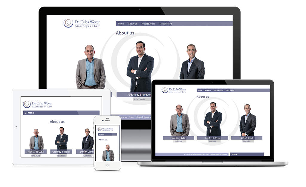 New site launch: De Cuba Wever Attorneys at Law