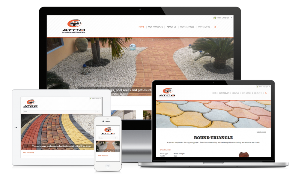 New site launch: ATCO Concrete Products