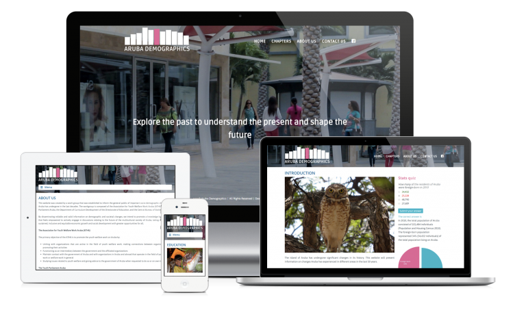New site launch: Aruba Demographics