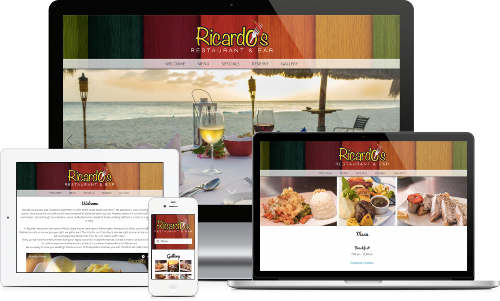 New site launch: Ricardo's Restaurant