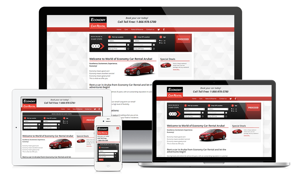 New Site Launch: Economy Car Rental