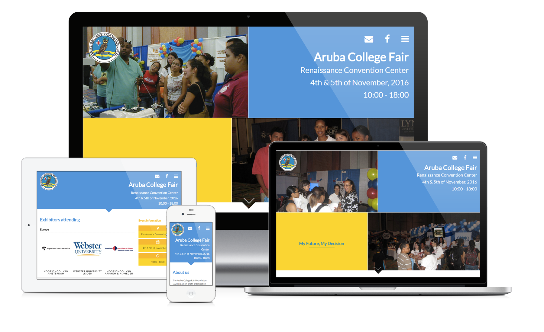 Site Redesign: Aruba College Fair