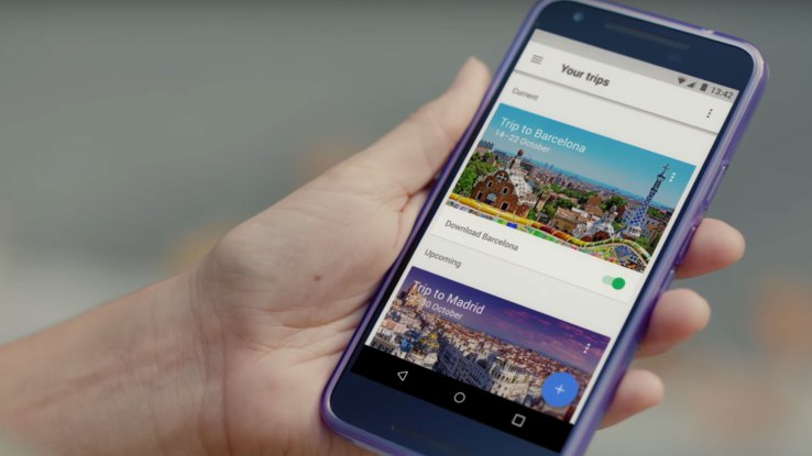 Google launches a personalized travel planner, Google Trips