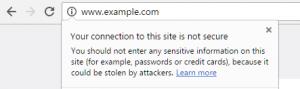 HTTPS - SSL Certificate