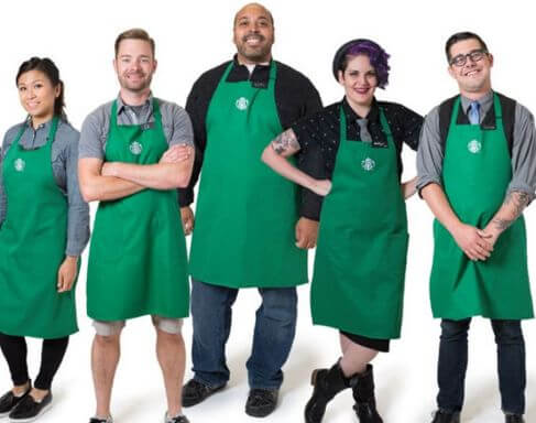 starbucks-employees-uniform-brand-signature-apron-caribmedia-blog-aruba