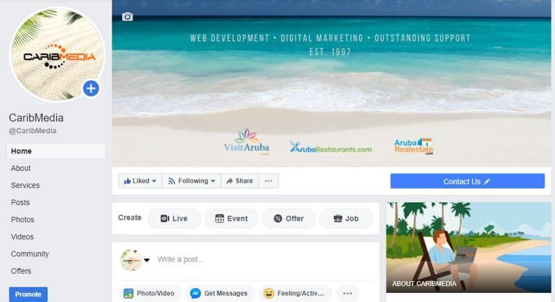 caribmedia-facebook-page-home-aruba-blog-about-business-checklist-written-by-megan-rojer-aruba