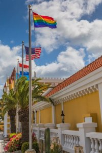 photo-by-amsterdam-manor-beach-resort-aruba-pride-month-rainbow-flag