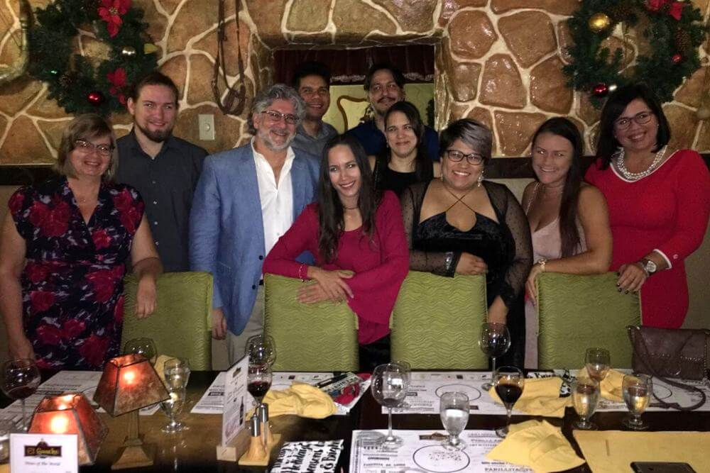 caribmedia-aruba-team-office-holiday-dinner-el-gaucho
