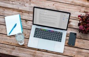 Laptop remote work