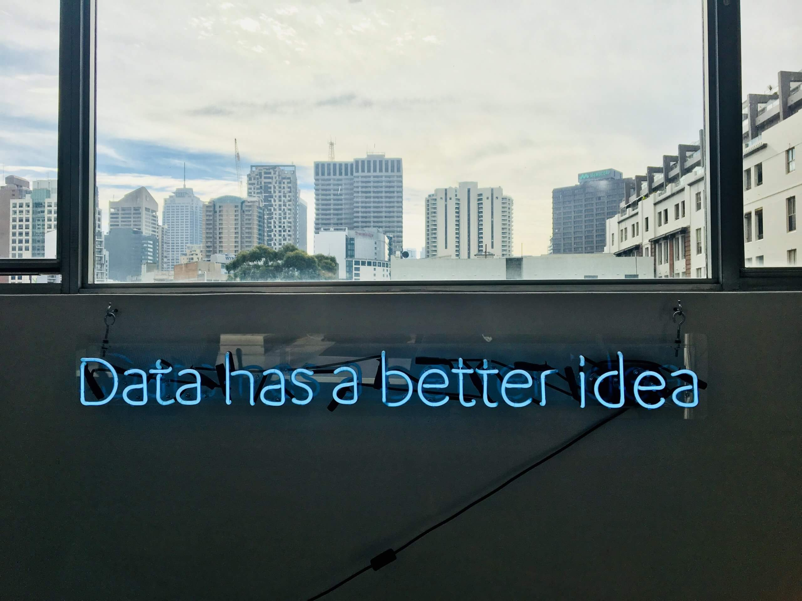 Listen to what your data is saying!