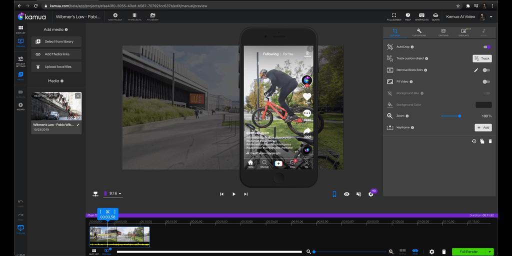 Video App Tip: Kamua